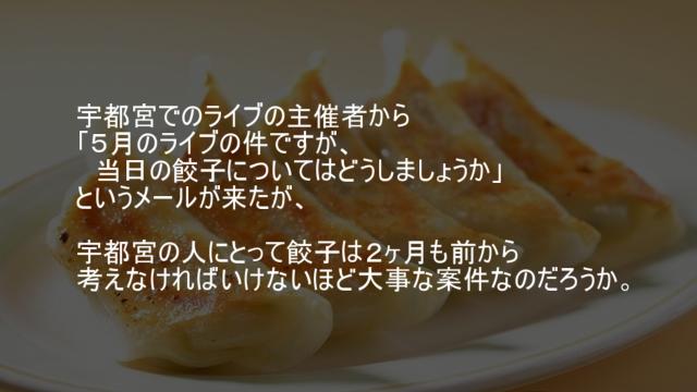 宇都宮の餃子