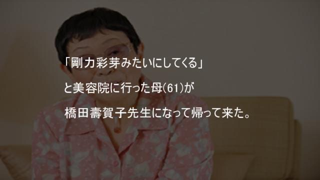 剛力彩芽 橋田壽賀子
