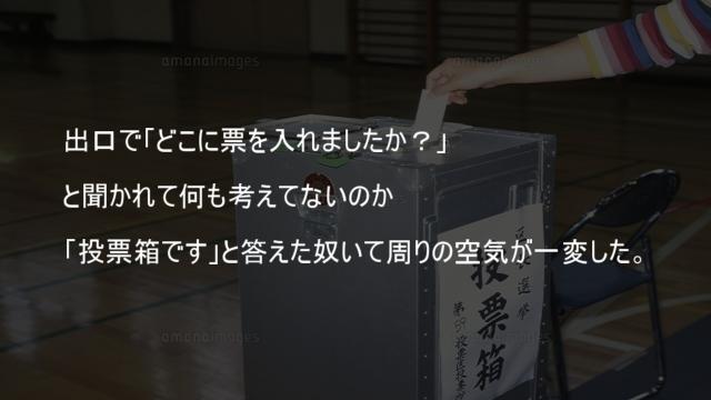投票箱です