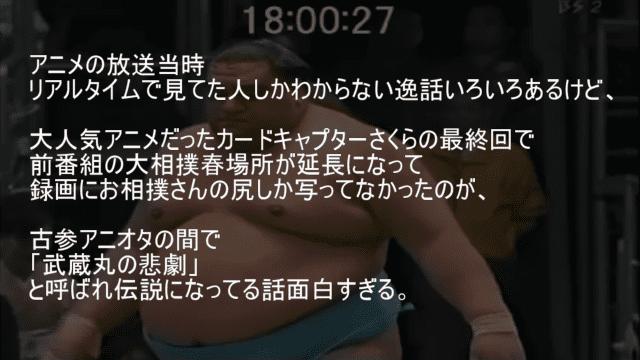 カードキャプターさくらの最終回 武蔵丸の悲劇